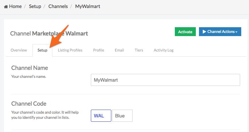 How To Set Up A Walmart Channel Jazva